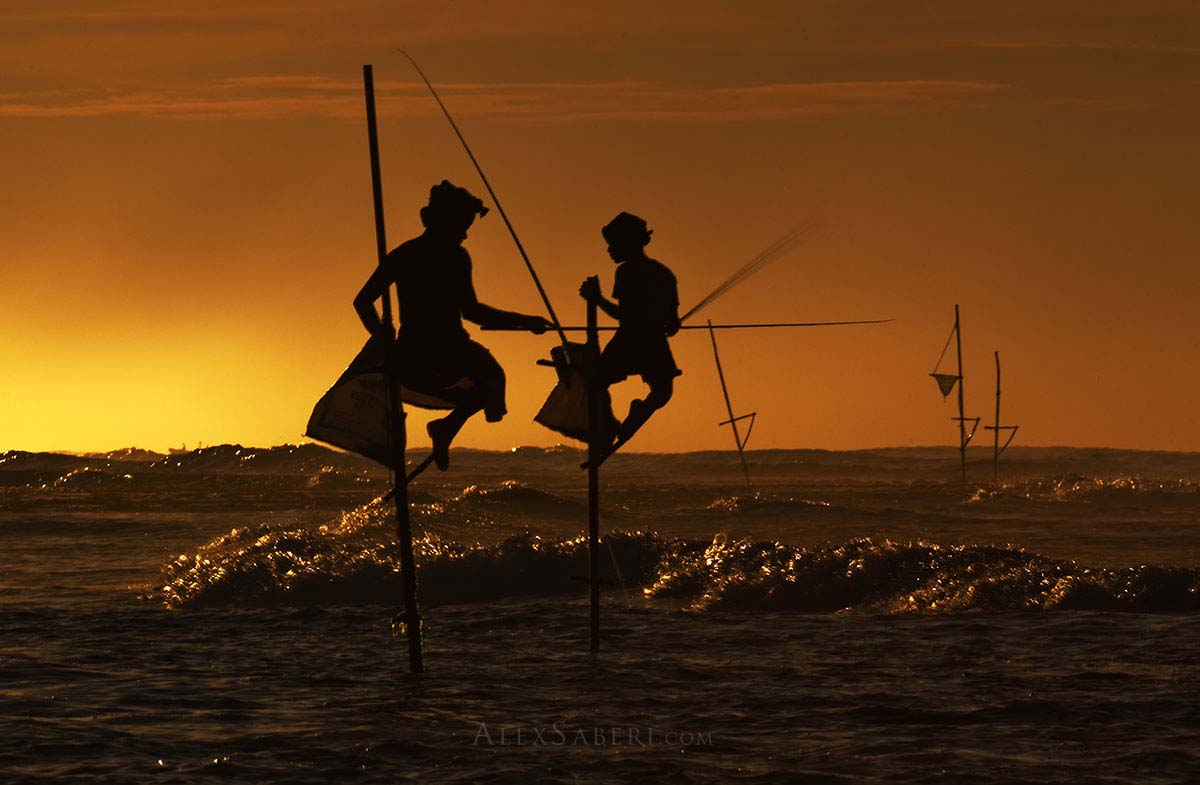 Fishermen of Weligama