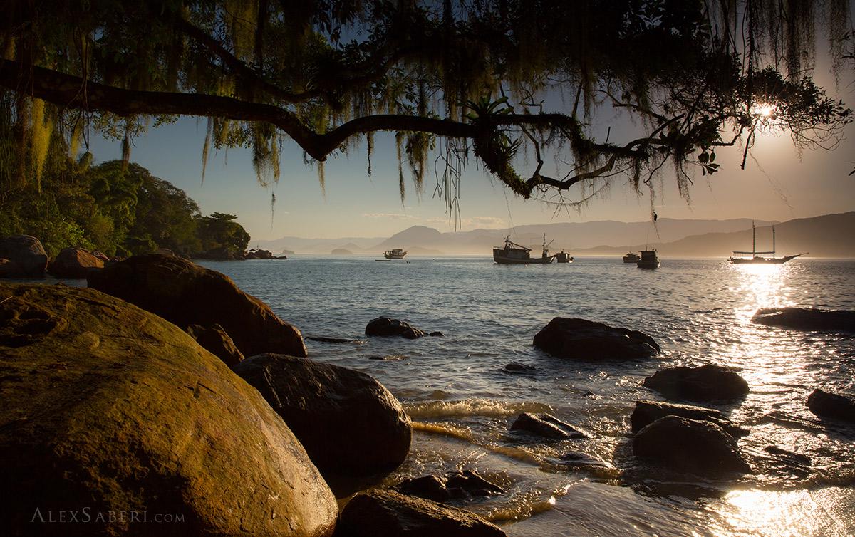 Picinguaba beach in Ubatuba