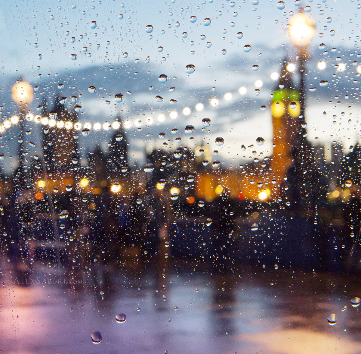 Southbank in the rain